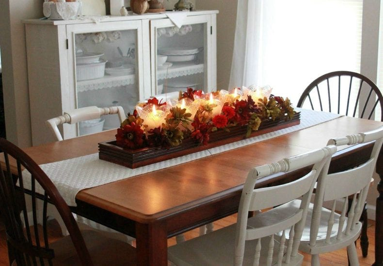 Kitchen Table Decorated 790x548