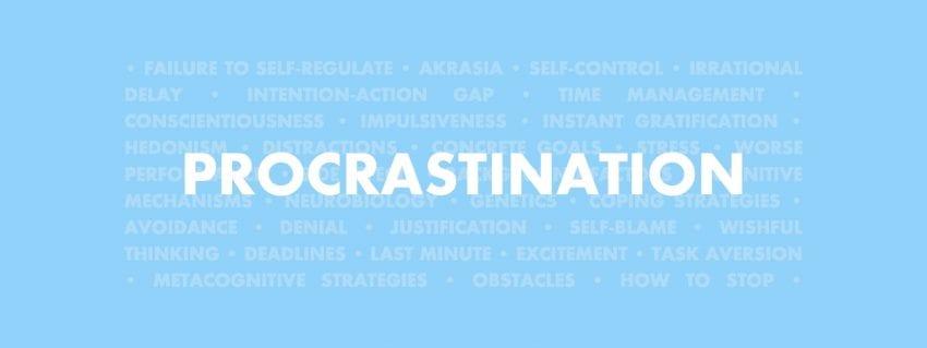 Procrastination 850x319