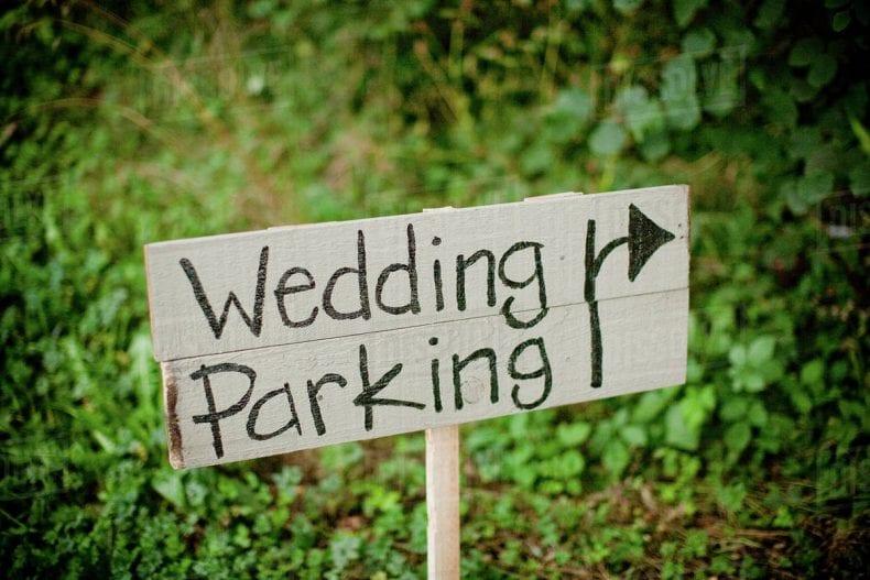 Wedding Parking 790x527