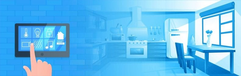 Smart Home Kitchen 790x252