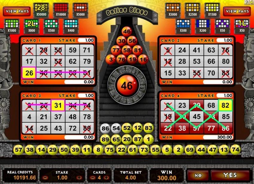 Bingo Online 850x617