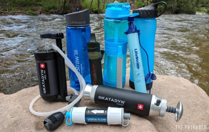 Survival Water Filters