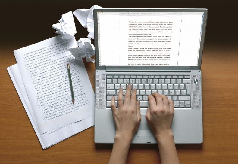 Writing 790x546