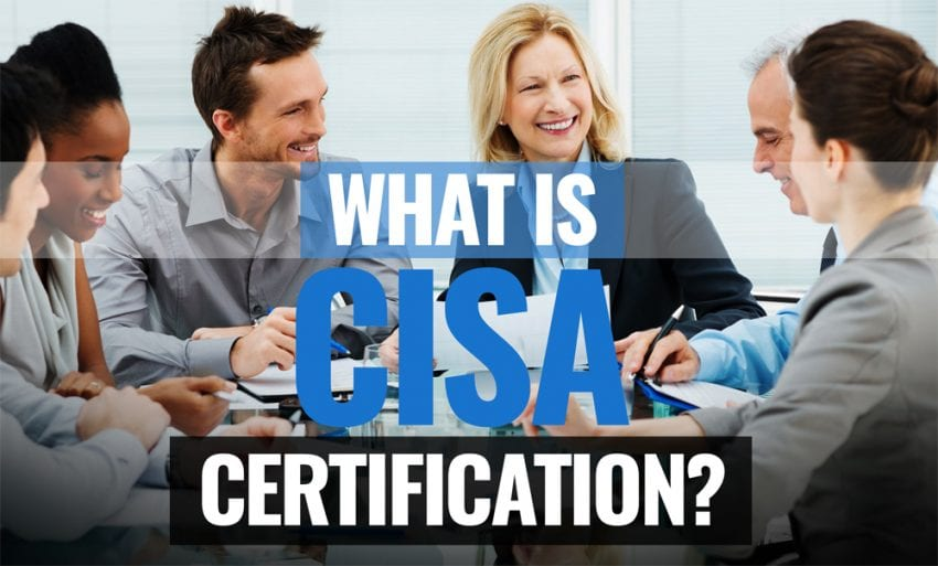 CISA Certification 850x513