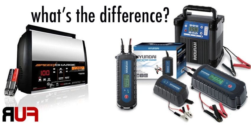 Deep Cycle Battery Charger VS Regular Battery Charger 850x425