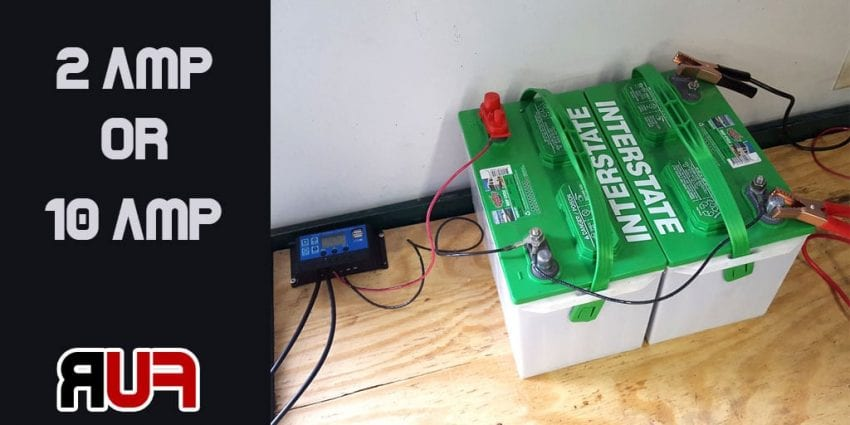 How to charge a deep cycle battery 850x425