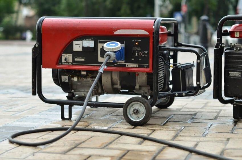Portable Electric Generator 850x563