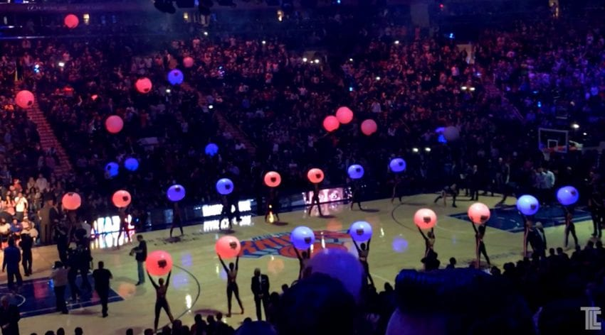 The New York Knicks City Dancers xyloballs 850x472
