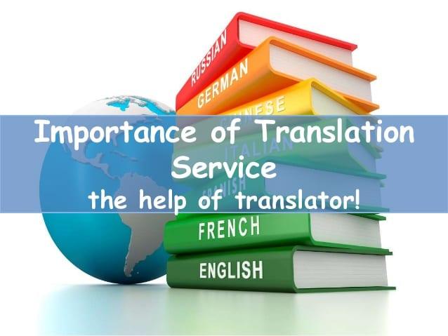 importance of translation service