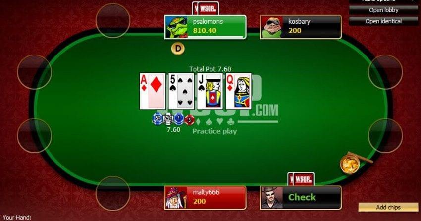 Online Casino Poker Free