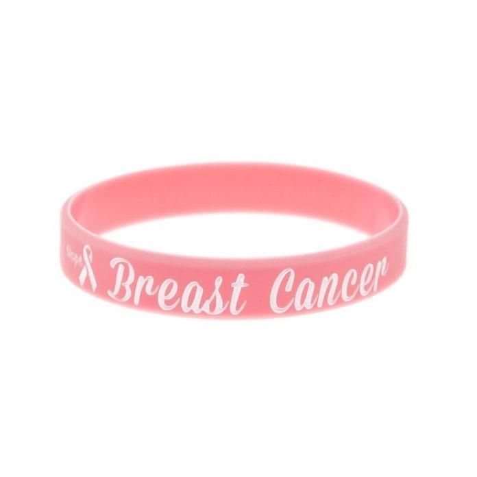 Ovarian Cancer Rubber Bracelets Alert Bracelet